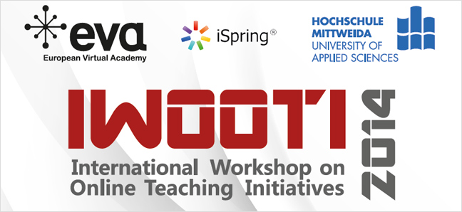 IWOOTI 2014 Workshop